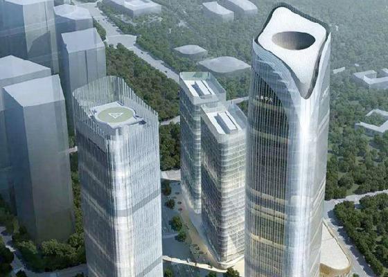 中建一局·中国航天科技园项目塔吊租赁